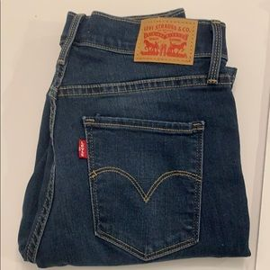 Levi's 311 shaping skinny jeans size 27 Q NWT